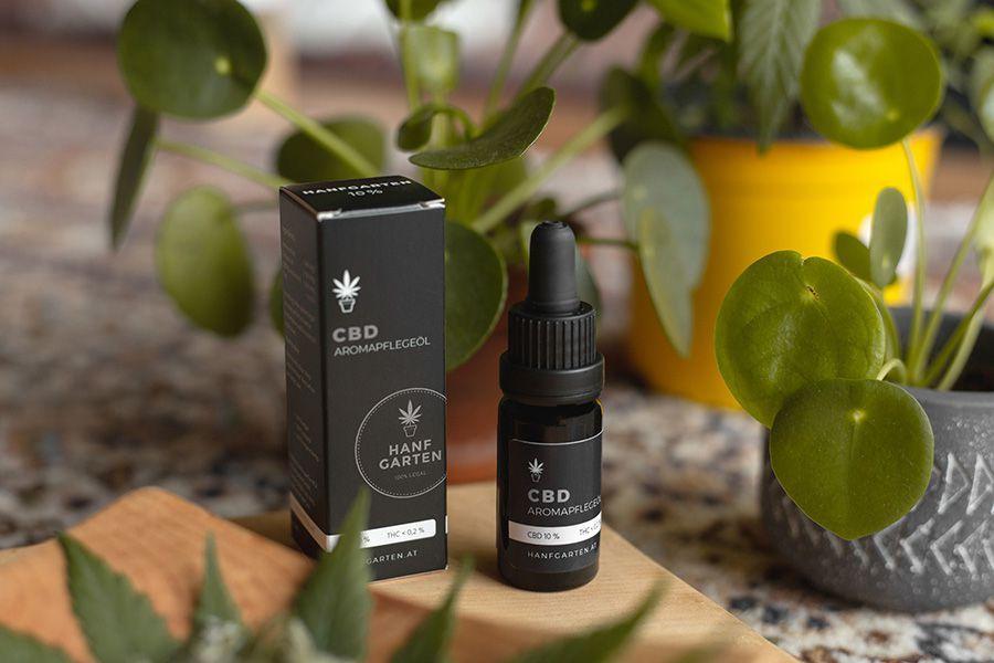 Natural agent CBD oil