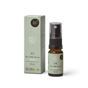 BioBloom 5% Organic CBD Spray Citrus 10ml