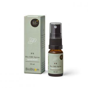 BioBloom 5% Organic CBD Spray Spearmint 10ml