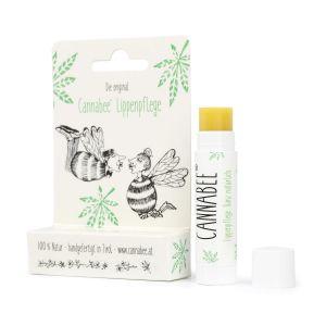 Lip care with hemp oil - Cannabee