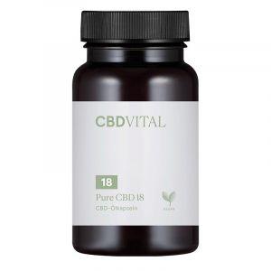 CBD Vital Pure CBD 18 Capsules 10