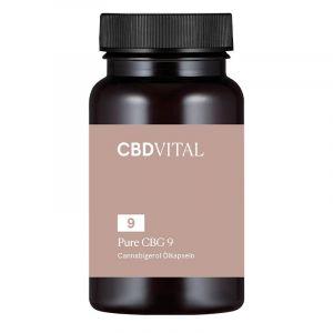 CBD Vital Pure CBG 9 Capsules 5%