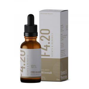 CBD oil 10% with hazelnut flavour