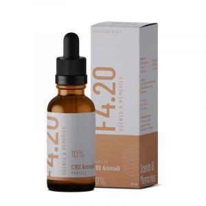 CBD oil 10% with vanilla flavour