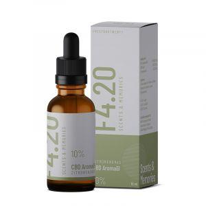 CBD oil 10% with lemongrass flavour