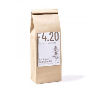 Rest hemp flower tea