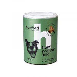 Dog biscuit with hemp - deer
