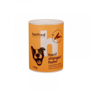 Dog biscuit with hemp - chicken
