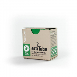 actiTube EXTRA SLIM Activated carbon filter 6mm